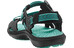 Keen Maupin - Sandales Femme - noir/turquoise